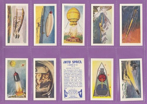 Set Of 25 - Swettenham (tea) - Into Space - 1959