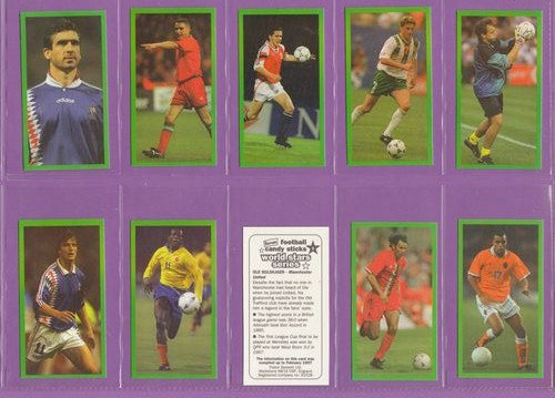 Set Of 48 - Trebor Bassett Ltd. - World Stars Series (footballers) - 1997