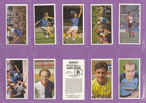 Set Of 48 - Geo. Bassett & Co. Ltd. - Football 1985-86 - 1986