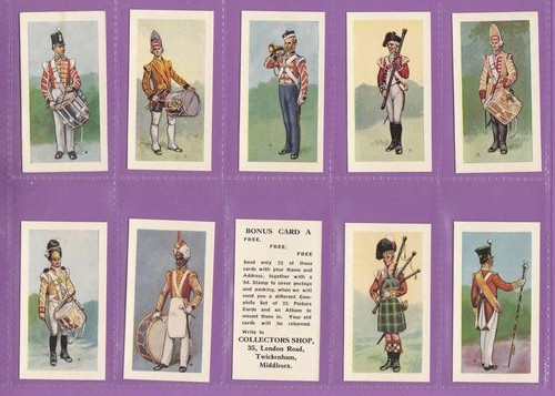 Set Of 25 - Collectors Shop - Bandsmen Of The British Army - 1960