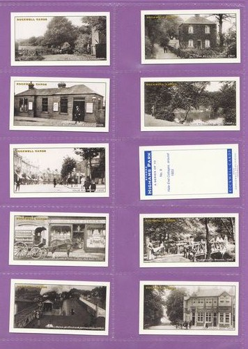 Set Of 10 - Rockwell Publishing - Bygone Highams Park - 1998