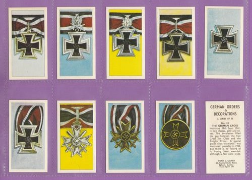 Set Of 50 - Tony L. Oliver - German Orders & Decorations - 1963