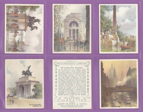 Set Of L 25 - John Player & Sons - Picturesque London - 1931