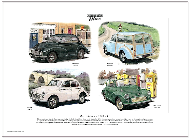 Golden Era Print - Morris Minor - Morris Minor - 1948-71