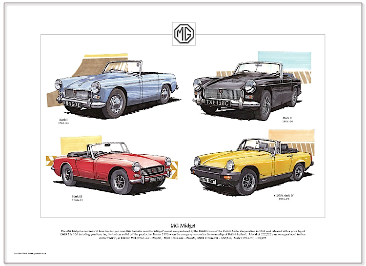Golden Era Print - Mg - Mg Midget