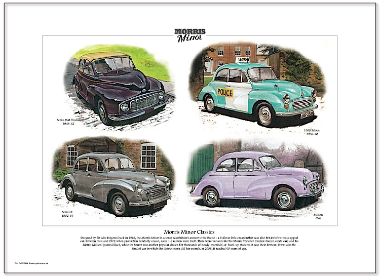 Golden Era Print - Morris Minor - Morris Minor Classics