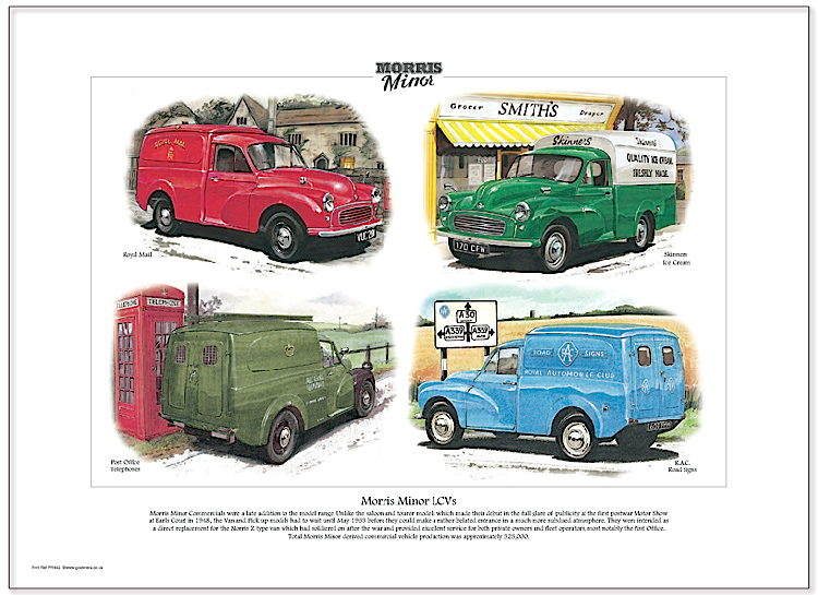 Golden Era Print - Morris Minor - Morris Minor Lcvs