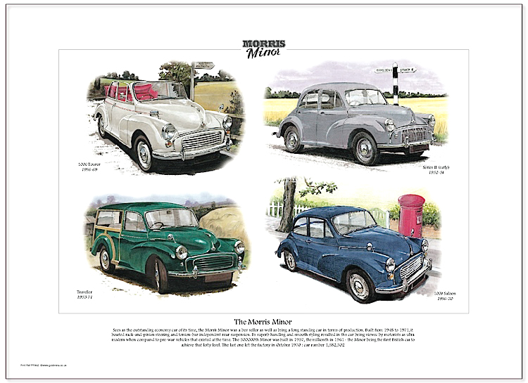 Golden Era Print - Morris Minor - The Morris Minor