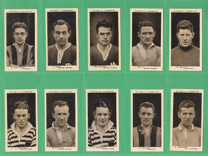 Stephen Mitchell & Son - Set Of 50 - Scottish Footballers - 1934