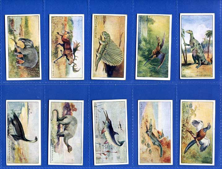 British American Tobacco Co. Ltd. - Set Of 25 - Prehistoric Animals - 1935