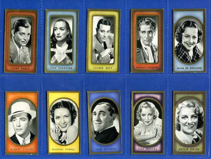 Carreras Ltd. - Set Of 50 - Film Favourites - 1938