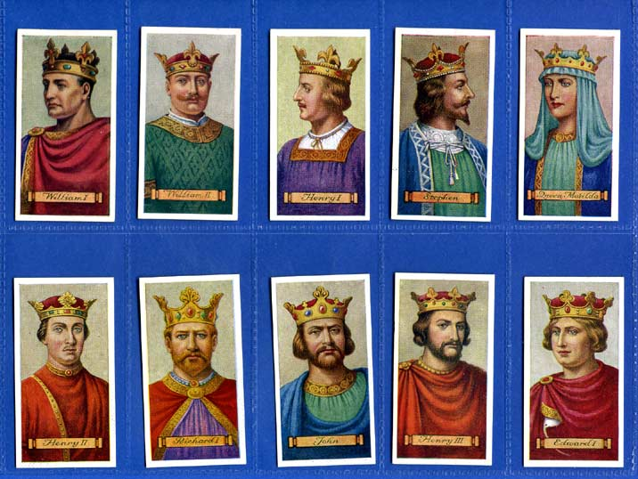 Carreras Ltd. - Set Of 50 - Kings & Queens Of England - 1935