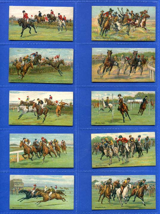 Carreras Ltd. - Set Of 25 - Races - Historic & Modern - 1927