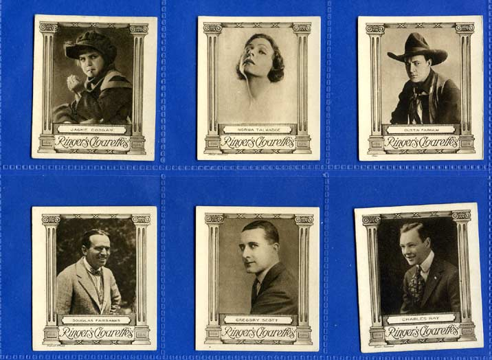 Edwards Ringer & Bigg - Set Of L 25 - Cinema Stars - 1923