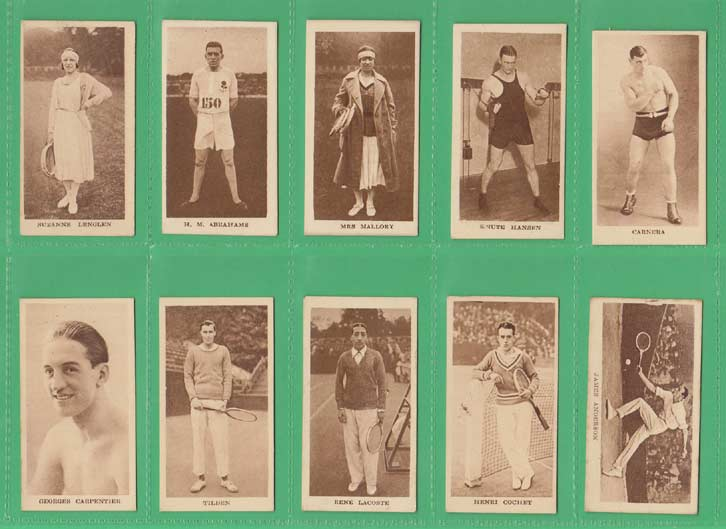 Godfrey Phillips Ltd. - Set of 36 - Sporting Champions - 1929