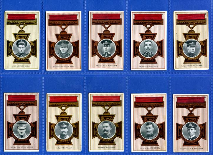 Cohen Weenen & Co. - Set of 50 - Victoria Cross Heroes (51-100) - 1916