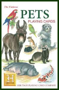 Heritage Playing Card Co. - Boxed Set of Playing Cards + 2 Jokers - Pets