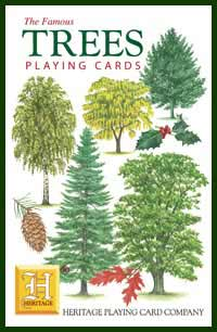 Heritage Playing Card Co. - Boxed Set of Playing Cards + 2 Jokers - Trees