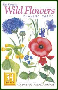 Heritage Playing Card Co. - Boxed Set of Playing Cards + 2 Jokers - Wild Flowers