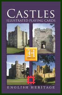 Heritage Playing Card Co. - Boxed Set of Playing Cards + 2 Jokers - Castles