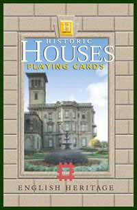 Heritage Playing Card Co. - Boxed Set of Playing Cards + 2 Jokers - Historic Houses