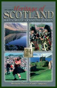 Heritage Playing Card Co. - Boxed Set of Playing Cards + 2 Jokers - Heritage of Scotland