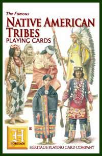 Heritage Playing Card Co. - Boxed Set of Playing Cards + 2 Jokers - Native American Tribes