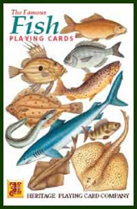 Heritage Playing Card Co. - Boxed Set of Playing Cards + 2 Jokers - Fish