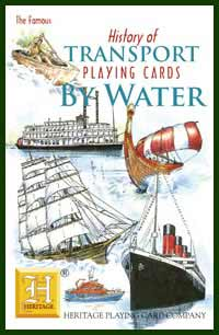 Heritage Playing Card Co. - Boxed Set of Playing Cards + 2 Jokers - History of Transport - By Water