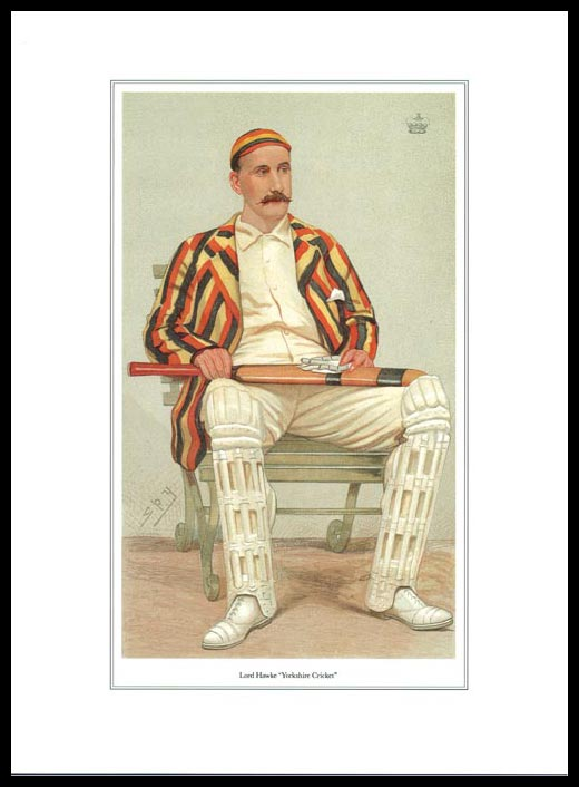 Pack Of 20 Prints - Vanity Fair Reprints - From Our Set Of 8 Great Cricketers - Lord Hawke