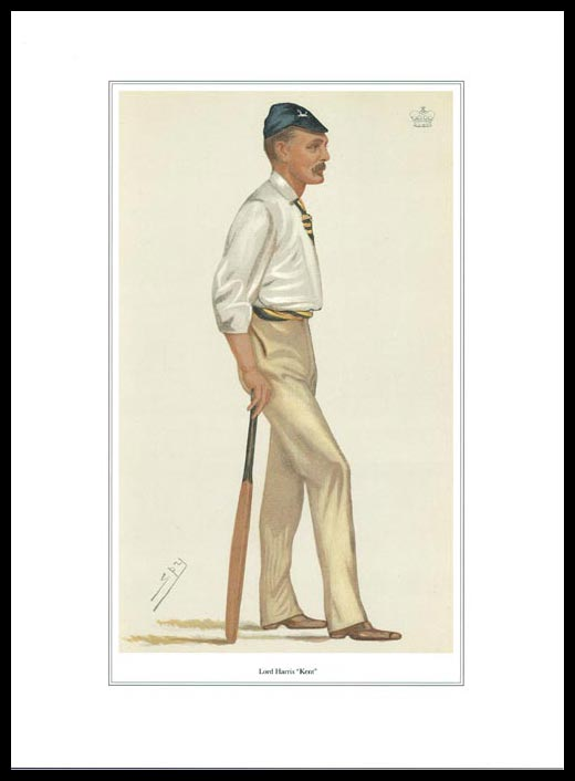 Pack Of 20 Prints - Vanity Fair Reprints - From Our Set Of 8 Great Cricketers - Lord Harris