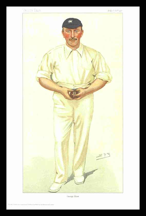Pack of 20 Prints - Vanity Fair Reprints - From our set of 6 Fantastic Cricketers - George Hirst
