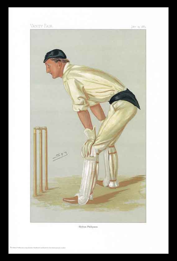 Pack of 20 Prints - Vanity Fair Reprints - From our set of 6 Fantastic Cricketers - Hylton Philipson