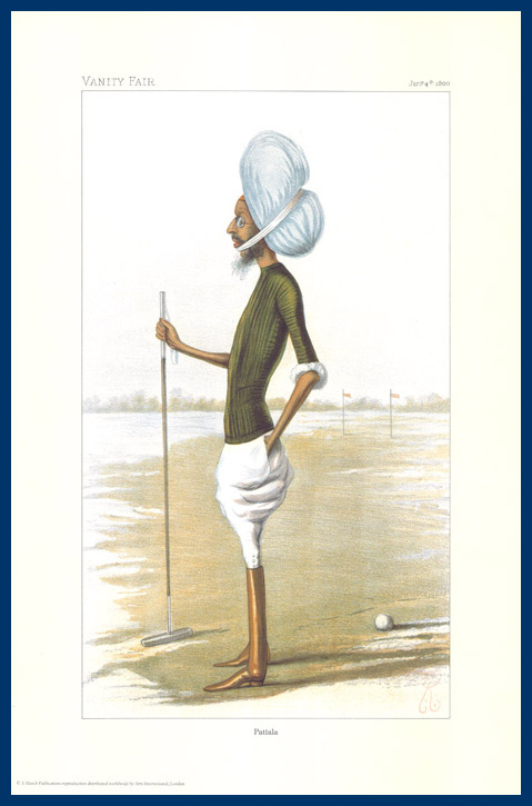 Pack Of 20 Prints - Vanity Fair & The World Reprints - From Our Fantastic Set Of 6 Polo Players - Patiala
