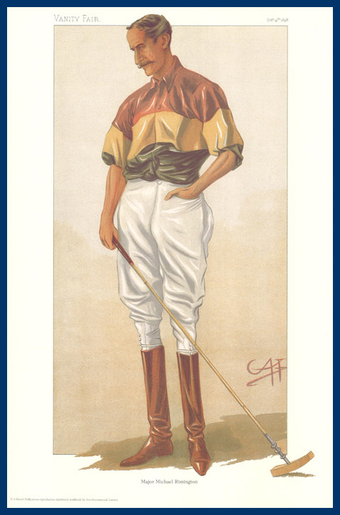 Pack Of 20 Prints - Vanity Fair & The World Reprints - From Our Fantastic Set Of 6 Polo Players - Major Michael Rimington