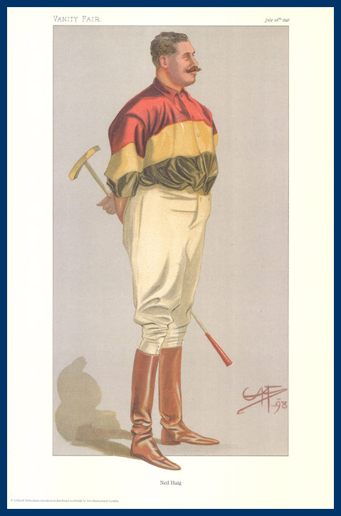 Pack Of 20 Prints - Vanity Fair & The World Reprints - From Our Fantastic Set Of 6 Polo Players - Neil Haig