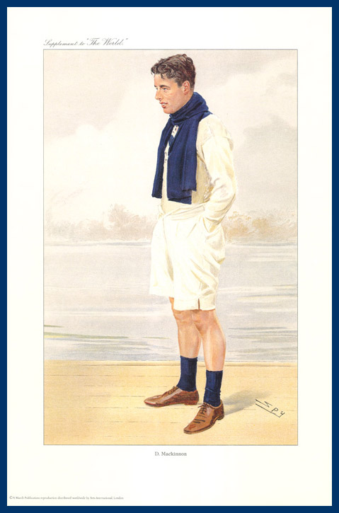 Pack Of 20 Prints - Vanity Fair & The World Reprints - From Our Fantastic Set Of 6 Rowers - D. Mackinnon