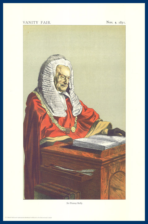 Pack Of 20 Prints - Vanity Fair Reprints - From Our Fantastic Set Of 8 Judges - Sir Fitzroy Kelly