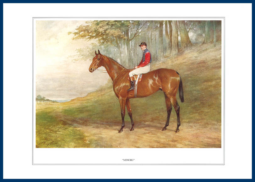 Pack Of 20 Prints - Vanity Fair Reprints - From Our Fantastic Set Of 16 Racehorses - Minoru