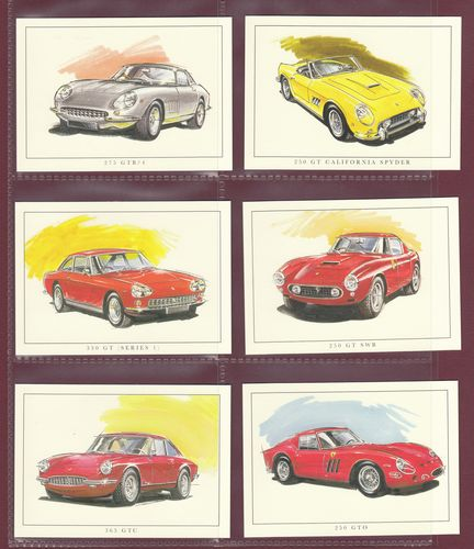 Rogerstock Ltd. - 20 Superb Sets Of 13 Ferrari Cards - 2007
