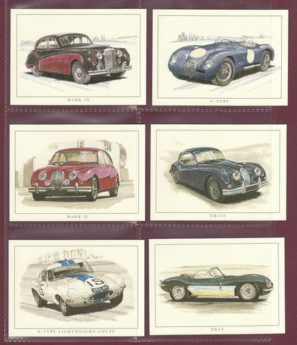 Rogerstock Ltd. - 20 Superb Sets Of 13 Jaguar Cards - 2007
