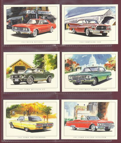 Rogerstock Ltd. - 20 Superb Sets Of 13 American Cars Of The 1960s - 2007