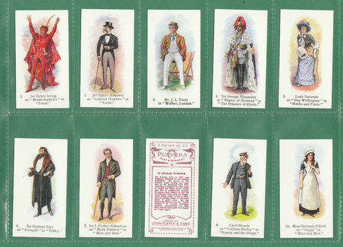 Card collectors society - set of 25 player's ' players past & present ' cards