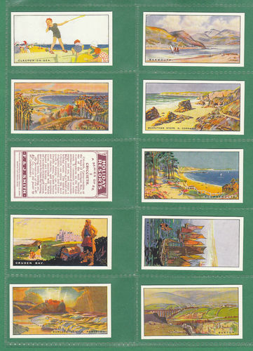 Card Collectors Society - Set Of 25 Smith ' Holiday Resorts ' Cards