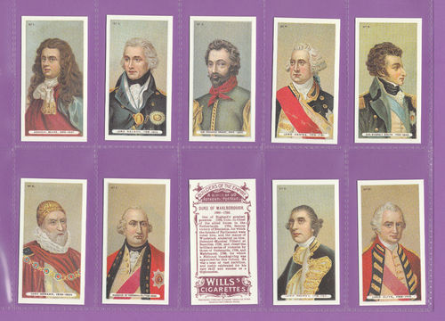 Card Collectors Society - Set Of 50 Wills ' Builders Of The Empire ' Cards