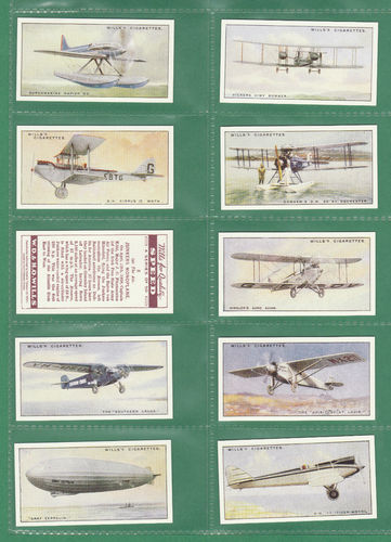 Card Collectors Society - Set Of 50 Wills ' Speed ' Cards