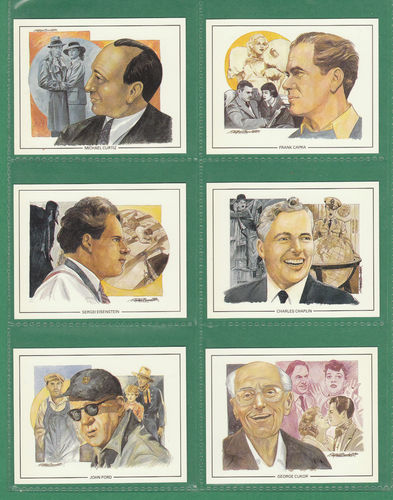 Cecil Court Collectors Centre - Set Of 20 Large Famous Film Directors Cards - 1992