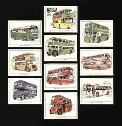 Golden Era - Set Of 10 British Buses Of The 1960s