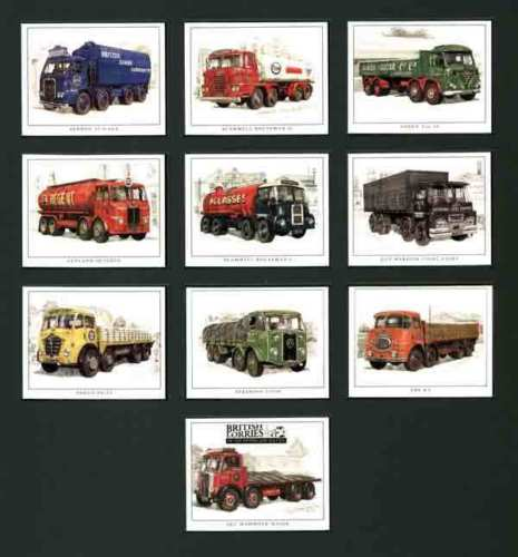 Golden Era - Set Of 10 British Lorries Of The 50's/60's