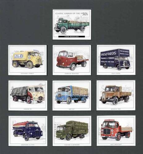 Golden Era - Set Of 10 Classic Lorries Of The 50's